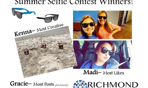 Summer Selfie 2015 Winners